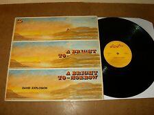 DAVID EXPLOSION : A BRIGHT TO MORROW - RARE LP BELGIUM 1971 - SUGAR PLUM records