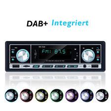 1 DIN Autoradio DAB+ Bluetooth 2 USB TF FM AUX Lenkradfernbedienung DAB Antenne