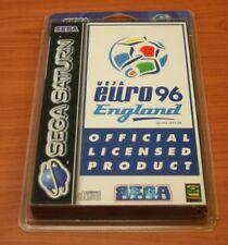 Jeux Sega Saturn UEFA EURO 96 ENGLAND   blister neuf    complet VF