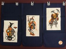 Japanese Noren Curtain Tapestry W/traditional Design  for doorway entrance