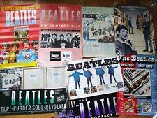 Huge wholesale lot BEATLES + SOLO promo posters - Paul McCartney George Harrison