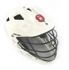 Schutt Stallion 600 For Lacrosse Helmet Size Medium Color White #Mp7357