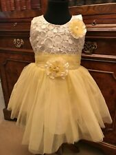 Gorgeous Baby Girls Red Dress Tulle Bow ~ Party ~ Bridesmaid ~ Occassion ~ Tia