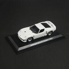 1:43 1981 Lamborghini Miura SVJ Roadster Model Car Diecast Collection White