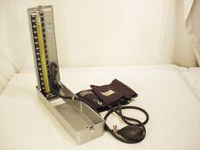 Vtg Blood Pressure Sphygmomanometer Hospital Metal Case American Diagnostic ADC