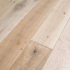 "7.5"" Limestone Natural Oil European White Oak Engineered Wood Flooring Sample"