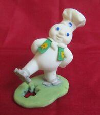 Danbury Mint 1997 March Pillsbury Doughboy Reading Figurine