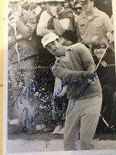 J. C. Snead Autographed Golf Photo
