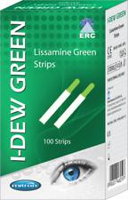 100 1.5 mg verde lisamina Tiras estéril oftálmica natural desgarro secreción I-Dew