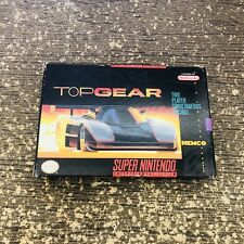 Top Gear 2 (Super Nintendo Entertainment System, 1993) SNES