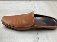 TIMBERLAND Women's Brown Leather Slip On Mules Clogs Casual Shoes Women's 7.5 M