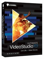 Corel Video Studio Ultimate X9 Full Version PC SEALED FAST POST