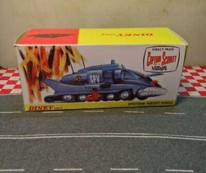 Dinky 104 Captain Scarlet Spectrum Pursuit Vehicle EMPTY Repro Box Only NO CAR