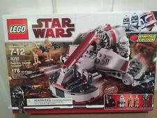 Lego Star Wars 8091 Republic Swamp Speeder limited edition great minifigures new