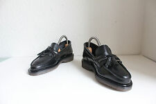 Vintage Dr. Martens Mokassin Schuhe Schwarz Eu:36,5-Uk:3,5 made in England- Neu