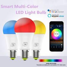 Wifi Smart Multi-Color LED Light Bulb Compatible for Amazon Alexa/Google Home