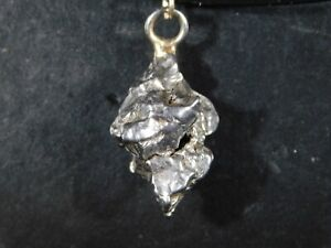 An Authentic Meteorite Made into a Pendant or Necklace...a Falling Star! 2.49