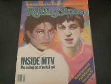 Michael Jackson, Kevin Kline, Big Country - Rolling Stone Magazine 1983