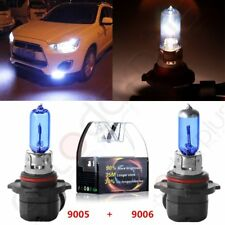 9005 & 9006 Xenon HID Headlight High/Low Beam Halogen Bulbs Combo 5000K White 4x