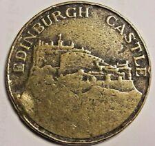 Medal Medaille Edinburg castle