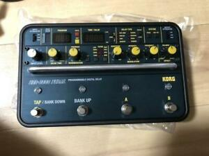 Korg SDD-3000 Pedal Programmable Digital Delay Rare effector with box theory