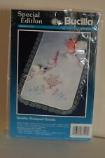 Vtg Special Edition by Bucilla Embroidery Kit Dresser Scarf - Love Birds Sealed