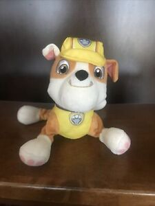 Paw Patrol Plush home free of smoke and pets Rubble Character