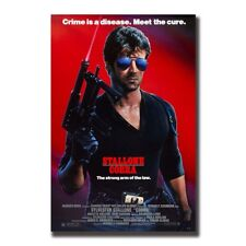 Stallone-Cobra Movie Poster Silk Art Wall Prints 24X36 inch