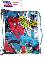 Spiderman per Bambini Palestra Swim POMPA School Bag-Officially Licensed Product
