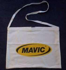 Mavic Team Cycling Musette White