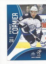 2012-13 St. John's IceCaps  (AHL) Patrice Cormier (Barys Astana)