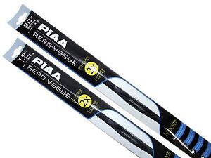 "Piaa Aero Vogue Windshield Wiper w/ Silicone Blades (20""/19"" Set) Made in Japan"