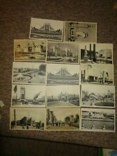 EXHIBITION Brussels Exposition Exposition Bruxelles 1935 Postcards x 14  unused