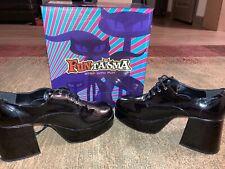 Funtasma By Pleasureusa Mens Platform Shoes Black 10-11 M