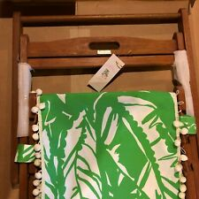 NEW Lilly Pulitzer for Target Teak Beach Patio Sling Chair Boom Boom Green