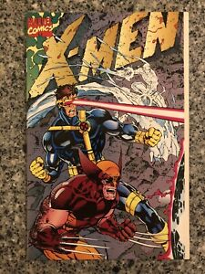 X-MEN #1E Variant Gatefold NM (Marvel 1991) Jim Lee