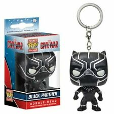 FUNKO Captain America: Civil War Pocket Pop! Key Chain Black Panther Figure NEW