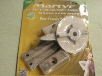 Mercury F30-F40-F60HP Anode Set bar-Trim Tab-Pocket Zink Märtyrer CMM3060KITZ LC