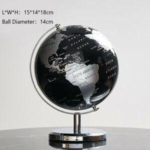 Home Decoration Accessories Retro Rotating Globe Modern Learning Globe Deco-CR
