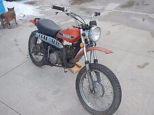 Suzuki TS250 Enduro  Vintage Motorcycle Parts Bike Project Will Ship 1973 2