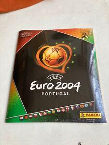 ALBUM SEALED EURO 2004 PANINI CRISTIANO RONALDO ROOKIE COMPLETE SET ED. ITALY