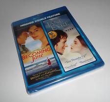 Becoming Jane/Jane Eyre (Blu-ray Set NEW) James McAvoy, Anne Hathaway Movie/Film