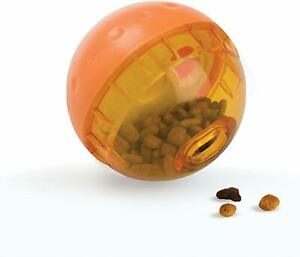 (10 Pack) OurPets IQ Treat Ball Food Dispensing Toy for Dogs 4 inch
