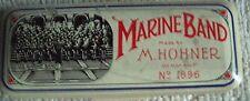 Hohner Marine Band Harmonica key of D No. 1896