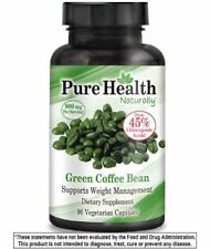 BEST Genesis Pure Health Green Coffee Bean Extract 800mg per Serve 90 Caps CGA