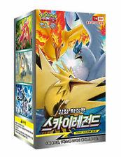 "Pokemon Cards Sun&Moon ""Sky Legend"" Booster Box SM10b / Korean Ver"