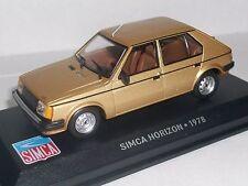 SIMCA HORIZON 1978  IXO 1/43  en boite I55