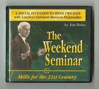 The Weekend Seminar - Skills for the 21st Century - Jim Rohn - 12 Audio CDs