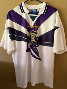 Scotland soccer jersey Umbro x