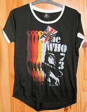 LADIES THE WHO BLACK T SHIRT SIZE S - NEW TAGS